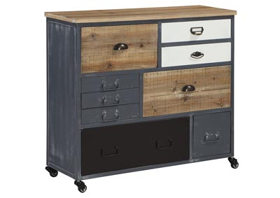 Ponder Ridge Gray Accent Cabinet