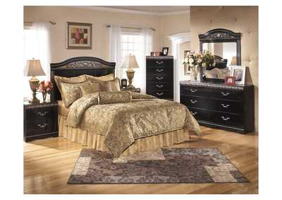 Constellations Queen/Full Panel Headboard, Dresser & Mirror