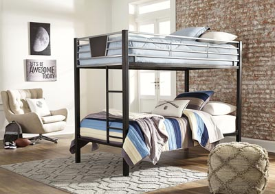 Dinsmore Twin/Twin Bunk Bed w/Ladder