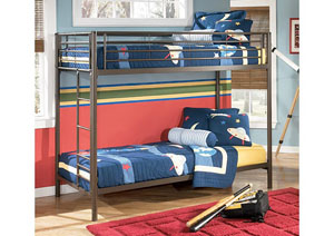 Benjamin Twin/Twin Metal Bunk Bed