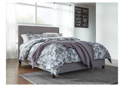 Dolante Gray King Upholstered Bed