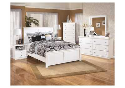 Bostwick Shoals Queen Panel Bed, Dresser & Mirror