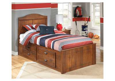 Barchan Twin Panel Storage Bed