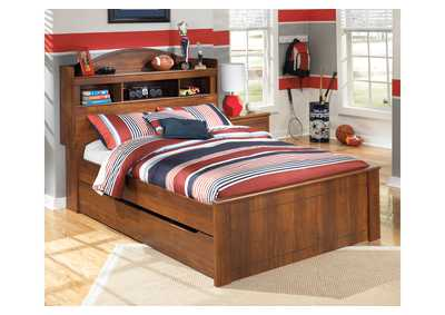 Barchan Full Bookcase Bed w/Trundle