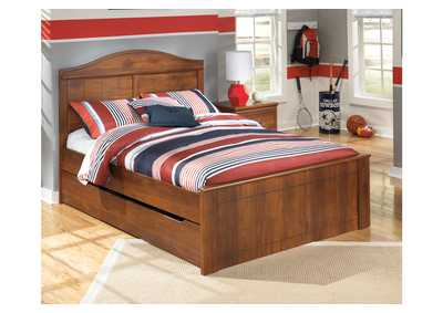 Barchan Full Panel Bed w/Trundle