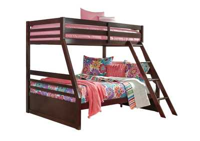 Halanton Dark Brown Twin/Full Bunkbed