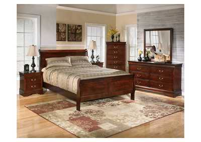 Alisdair Queen Sleigh Bed, Dresser, Mirror, Chest & Night Stand
