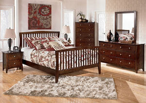 Rayville Queen Panel Bed