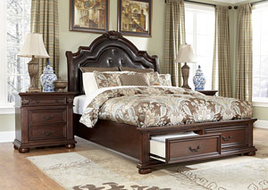Caprivi Queen Storage Bed