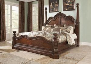 Ledelle King Poster Bed