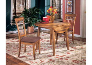 Berringer Drop Leaf Table w/ 2 Side Chairs