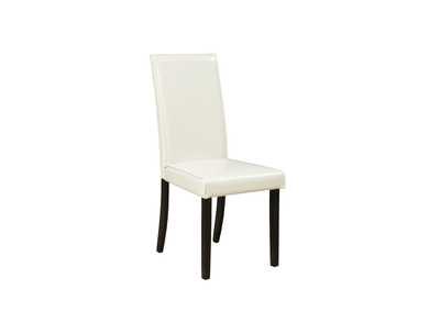 Kimonte Ivory Upholstered Chair (Set of 2)