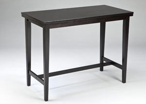 Kimonte Rectangular Counter Height Table