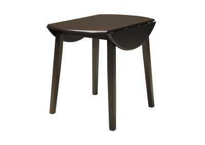 Hammis Round Drop Leaf Table