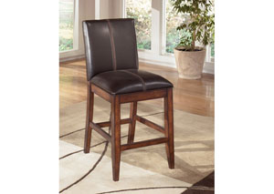 Larchmont Upholstered Barstool (Set of 2)
