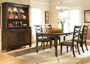 Hayley 7-Piece Dining Set (Table & 6 Chairs)