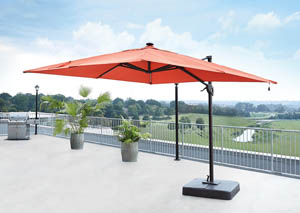 Oakengrove Coral Large Cantilever Umbrella