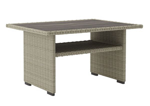 Silent Brook Beige Rectangular Multi-Use Table