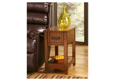Brown Chair Side End Table