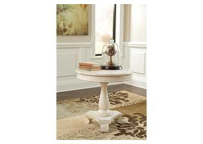 Cottage Accents Round Accent Table