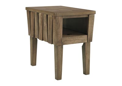 Rowenbeck Brown Chairside End Table