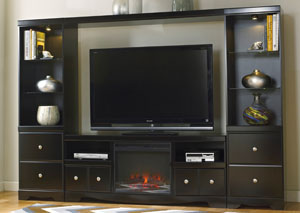 Shay Entertainment Center w/ LED Fireplace