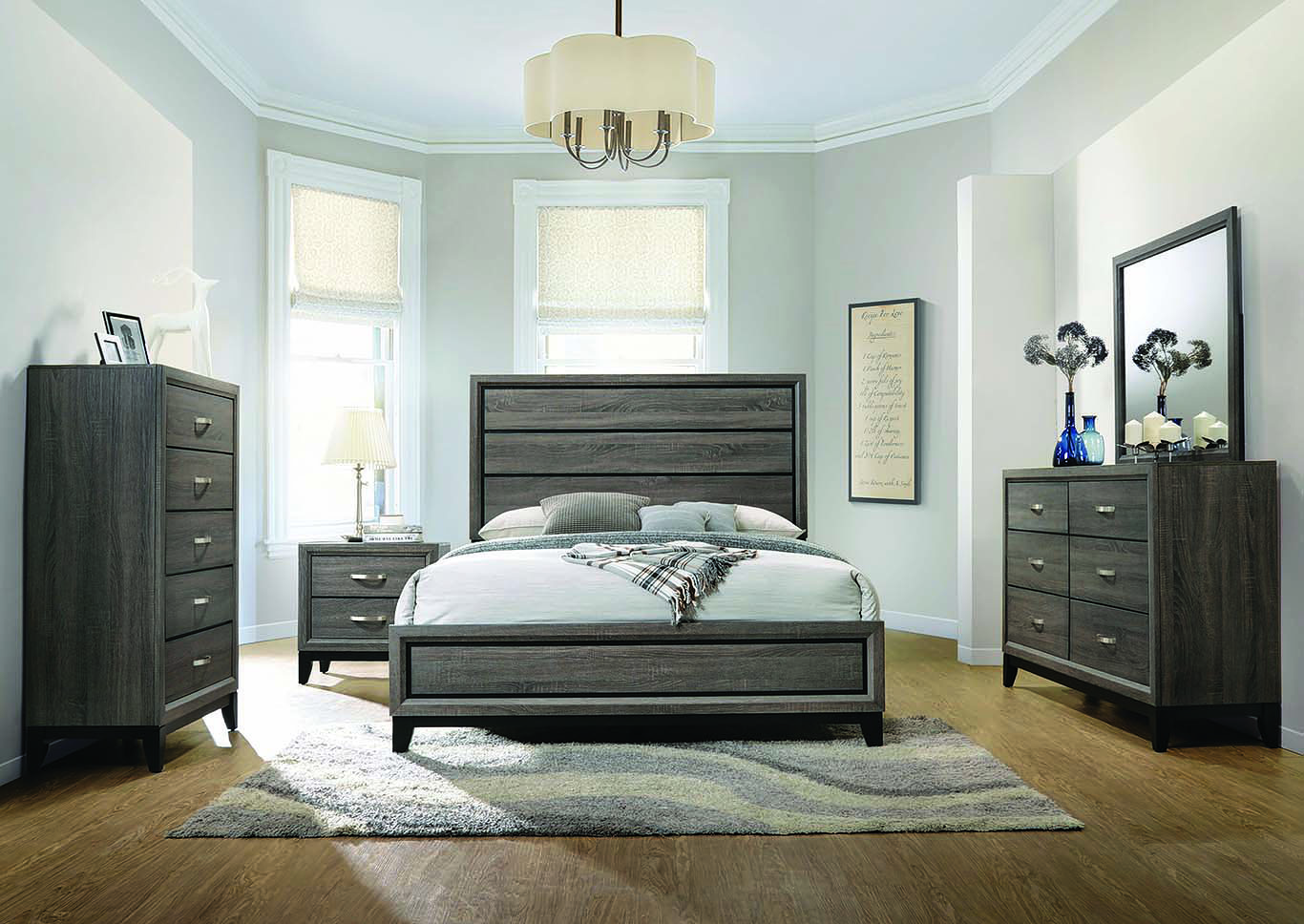 Watson Eastern King Panel Bed,Coaster Furniture