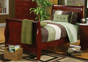 Louis Philippe Cherry Full Bed