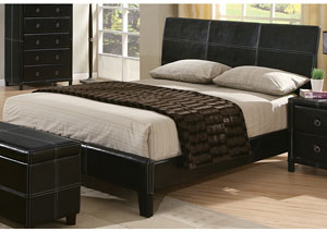 Danielle Brown & Cappuccino Queen Bed