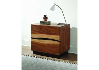 Smokey Walnut Nightstand