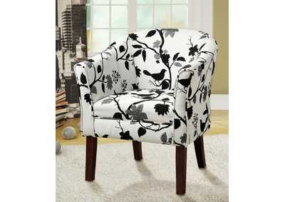 White Accent Chair