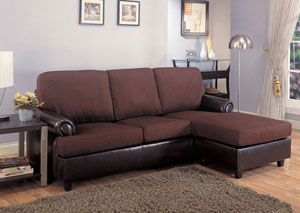 Rupard Dark Brown Sectional