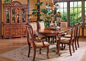 Cherry Dining Set (Table & 4 Side Chairs)