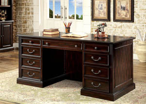 Coolidge Cherry Office Desk