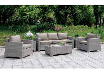 Brindsmade Gray 6 Piece Patio Set