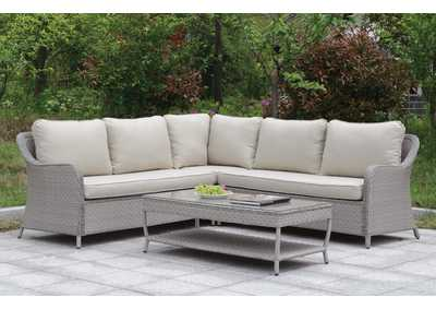 Cogswell Gray Patio Sectional