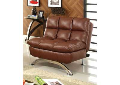 Aristo Saddle Brown Chair