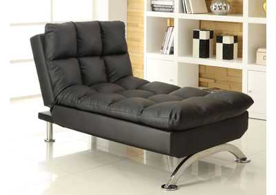 Aristo Black Chaise