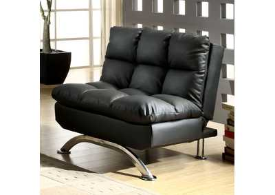 Aristo Black Futon Chair