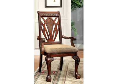 Petersburg l Cherry Arm Chair (Set of 2)
