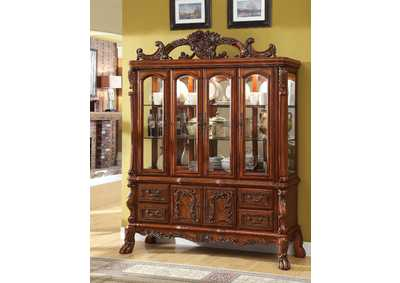 Medieve Antique Oak Hutch Buffet