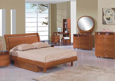 Emily Cherry Full Bed, Youth Dresser & Youth Mirror