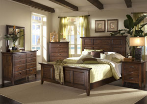 Carturra Queen Bed, Dresser, & Mirror