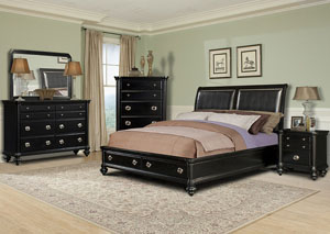 Danbury King Bed, Dresser, Mirror & Chest