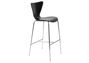 Tessa Black Bar Chair