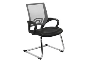 Silver Conference Office Chair