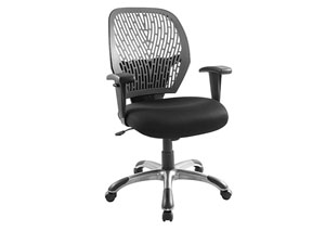 Grey/Black Cyber Office Chair