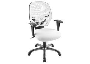 White Cyber Office Chair