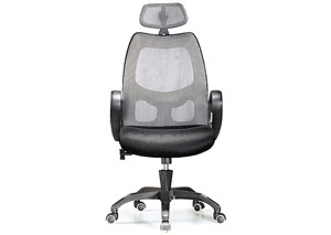 Executive Office Chair Silver