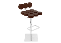 Mushroom Brown Bar Stool